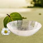 Clear Quartz Gemstone Bowl