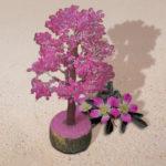 Pink Gemstone Tree