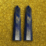 Lapis Lazuli Wand Prism Point