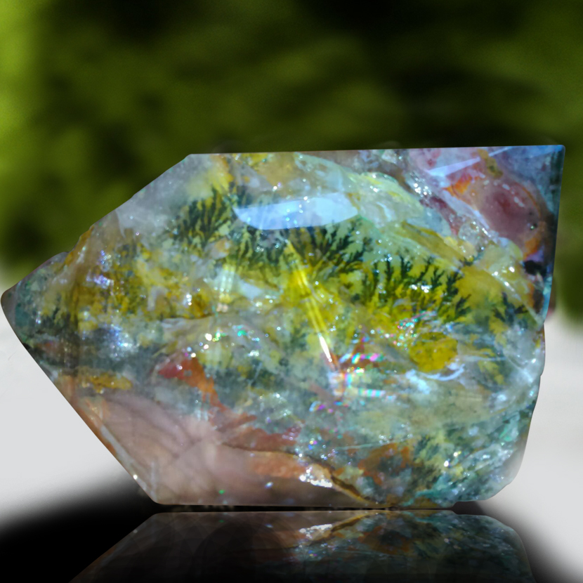 Natural Painting In Crystal