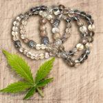 Rounded Crystal And Buddha Bracelets